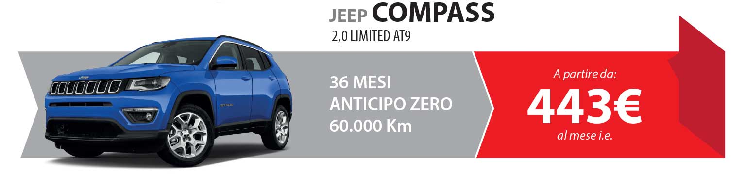 JEEP COMPASS 2,0 LIMITED AT9